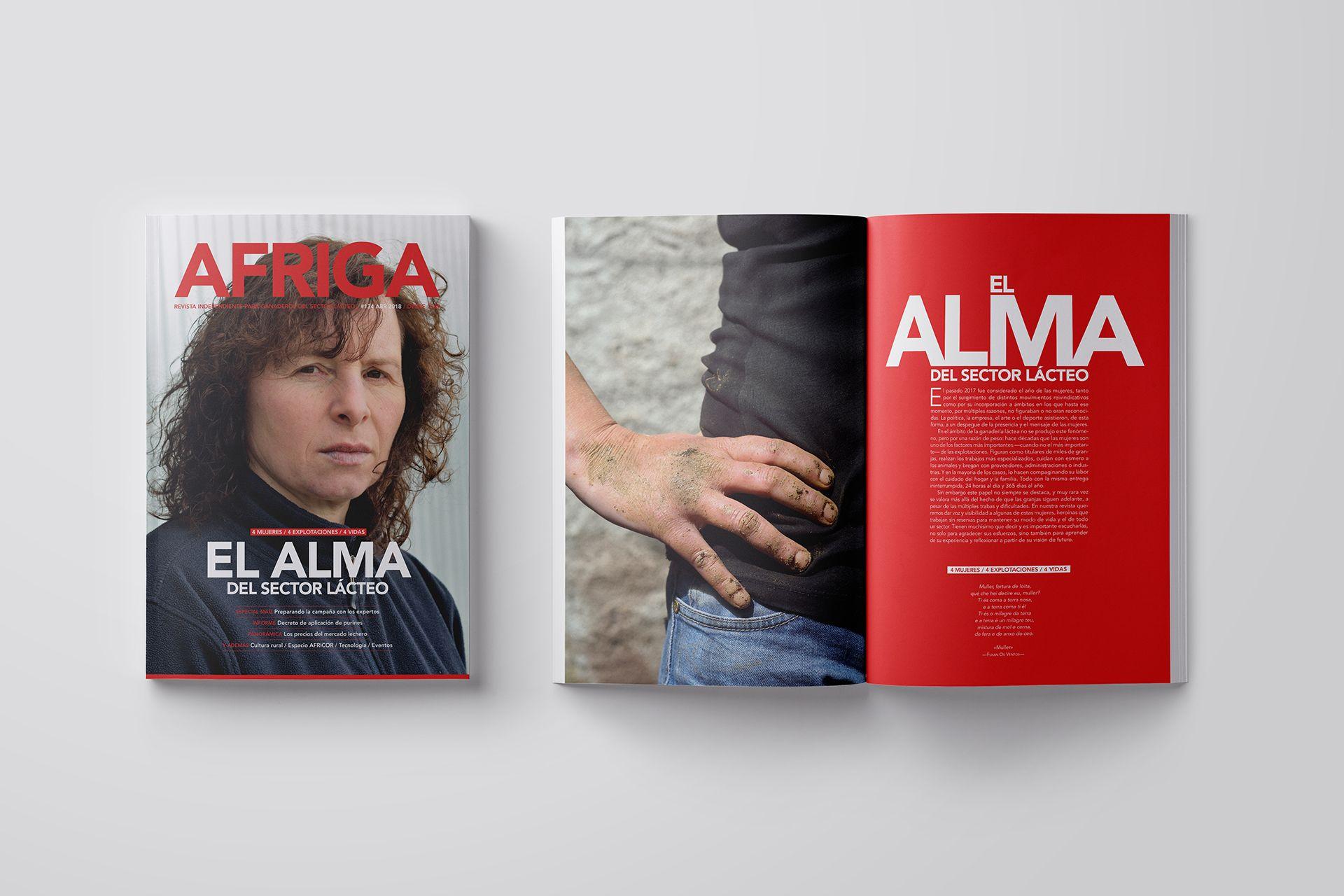 Revista AFRIGA #134: El alma del sector lácteo