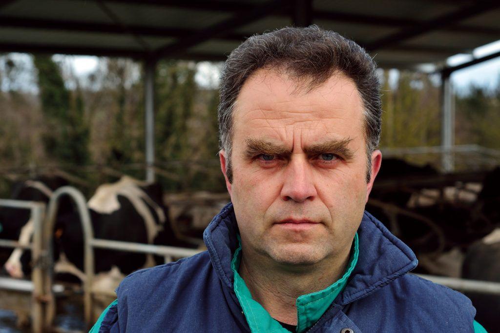 «Recogemos datos para producir una leche mejor» <br><small>José Carlos Vega | Presidente de AFRICOR Lugo</small>