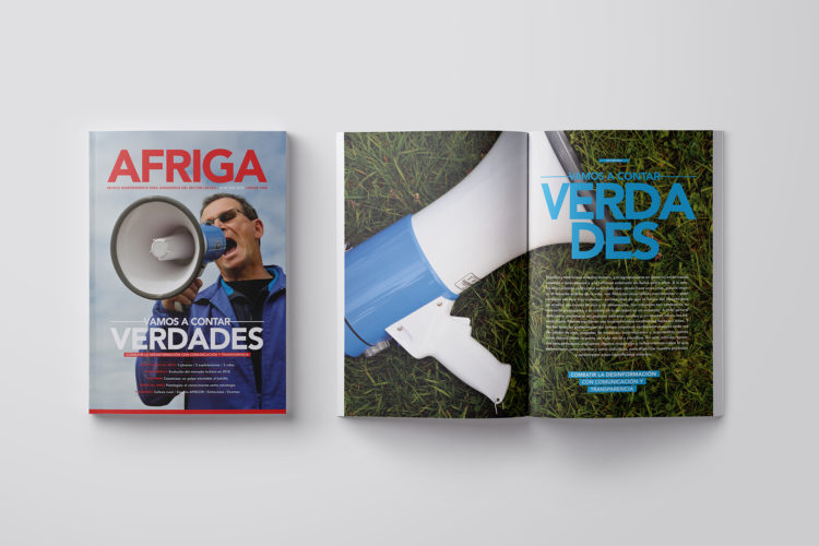 AFRIGA #135 <br><small>Junio 2018 | Contenidos</small>