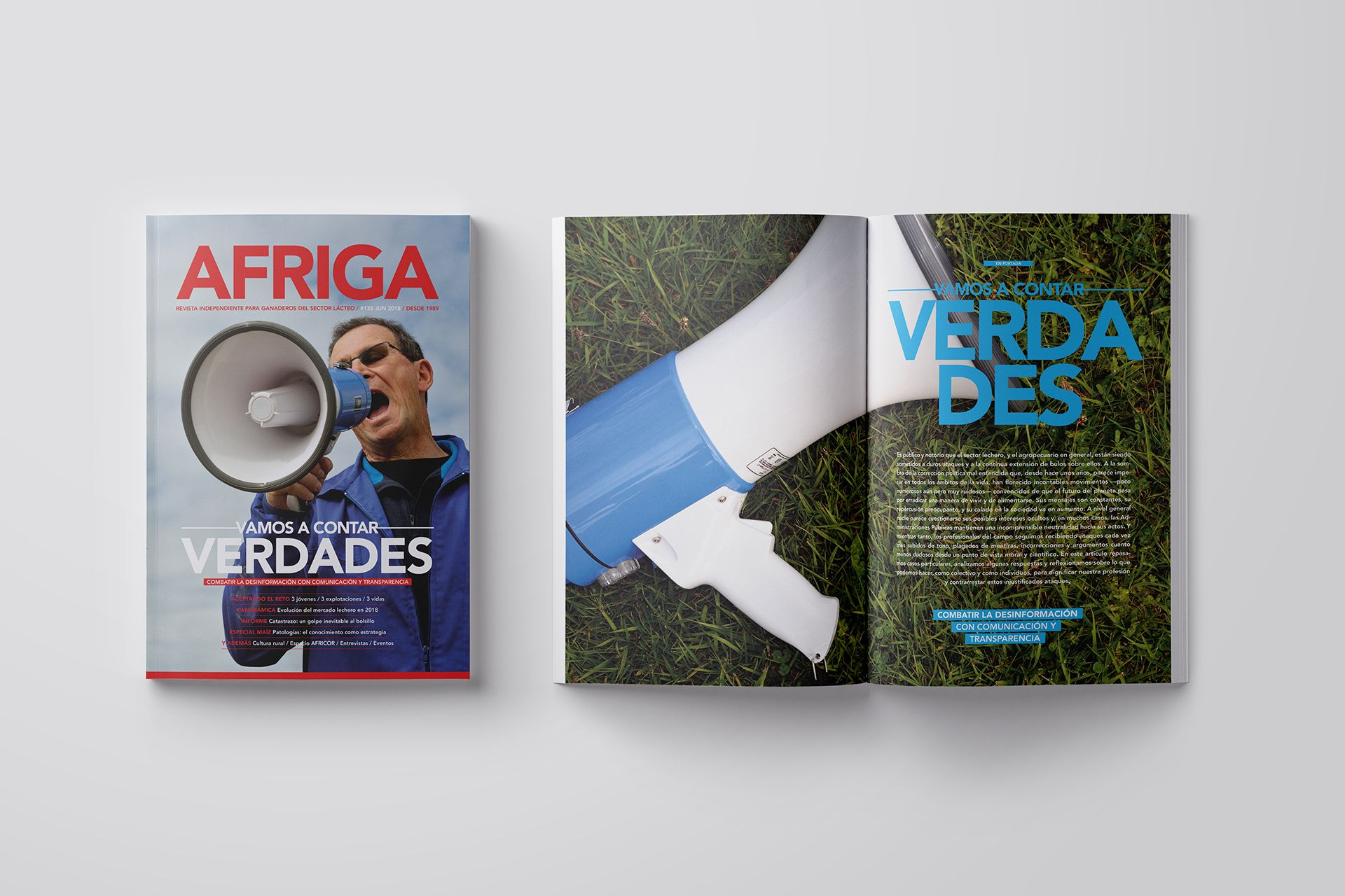 Revista AFRIGA #135 — Junio 2018