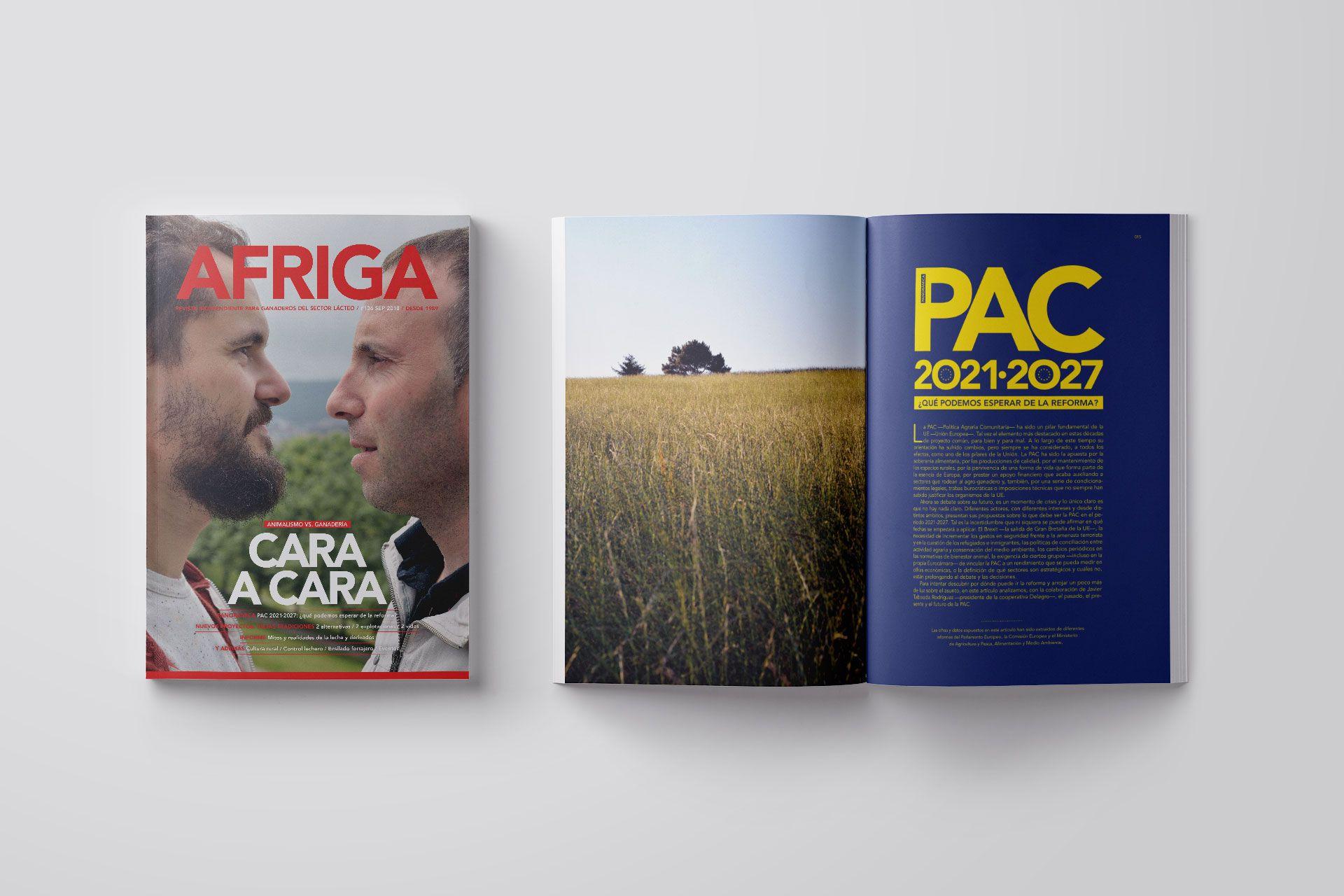 Revista AFRIGA #136 — Septiembre 2018 — Portada