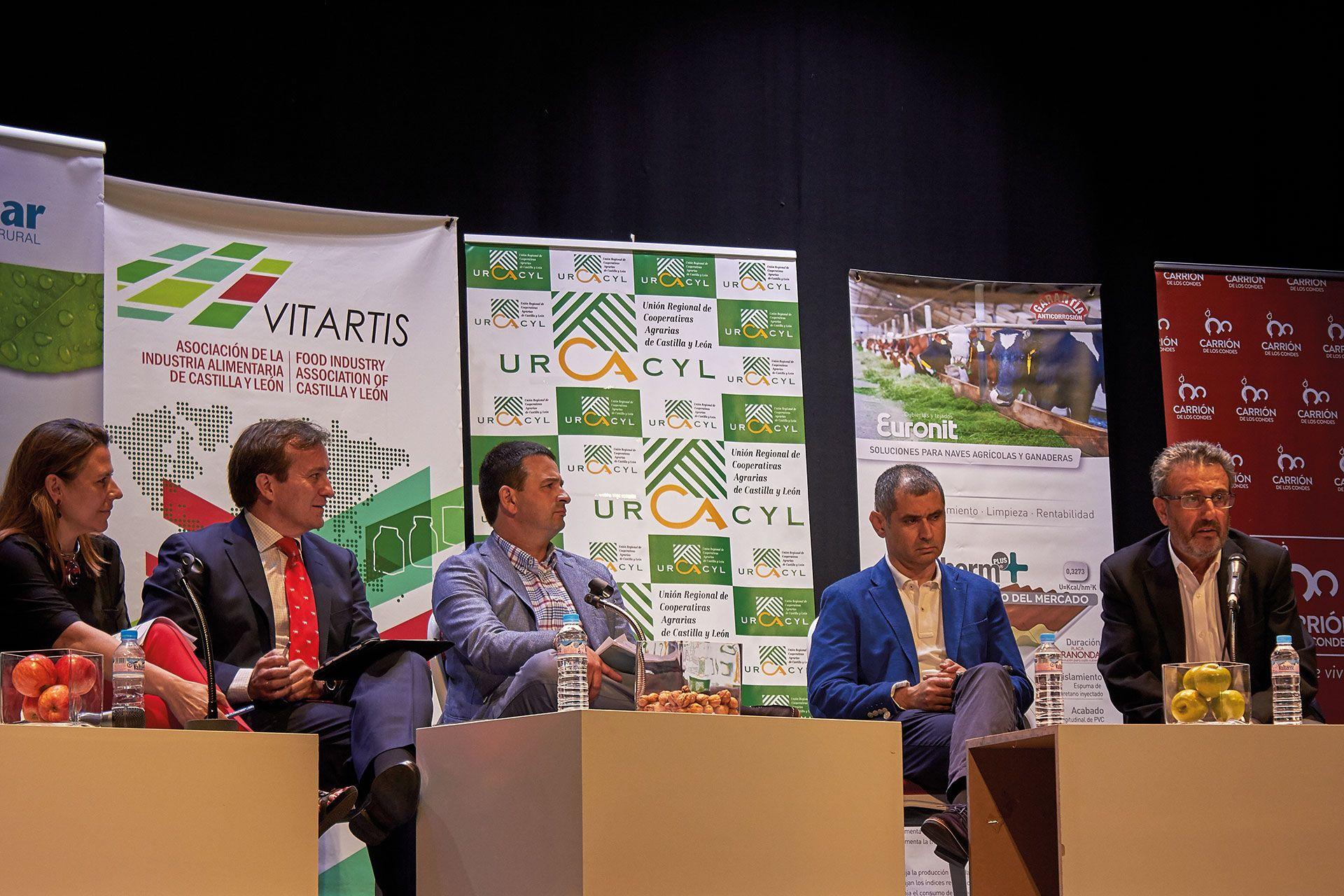 Revista AFRIGA — Jornada sobre el sector lácteo en Carrión de los Condes