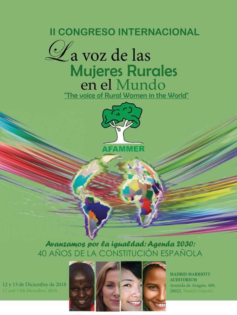 Revista AFRIGA — II Congreso Internacional La Voz de las Mujeres Rurales en el Mundo
