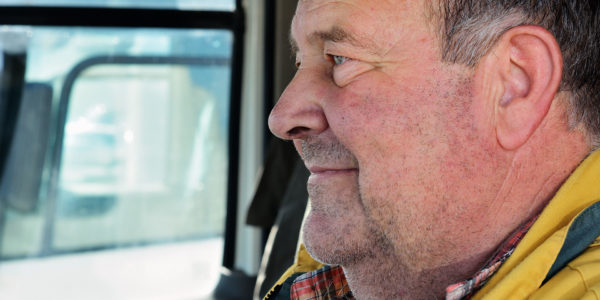 Antonio Rodríguez Novoa: de ruta con el lechero <br><small>El día a día de uno de los profesionales que recogen nuestra leche</small>