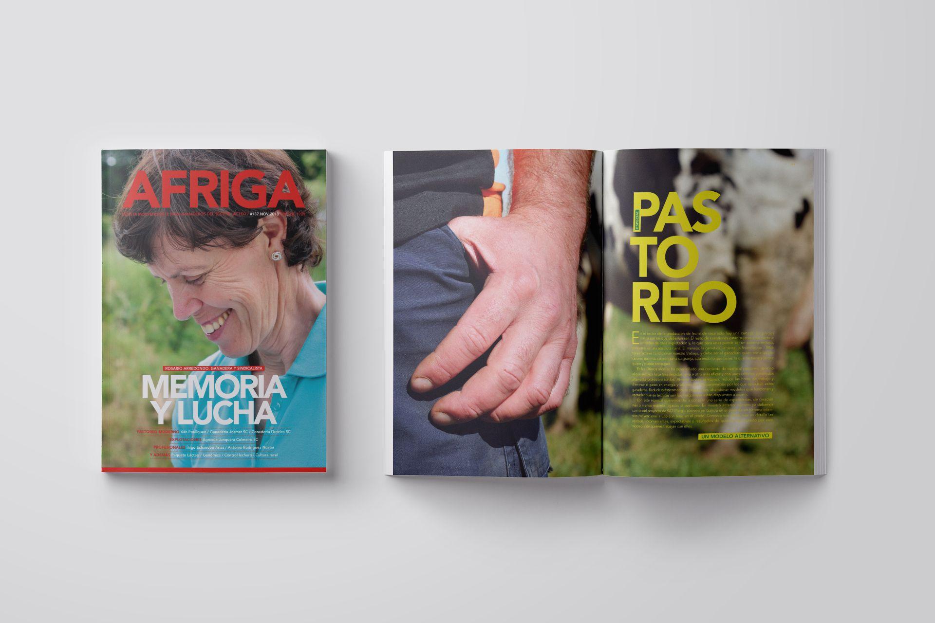 Revista AFRIGA #137 — Noviembre 2018 — Portada