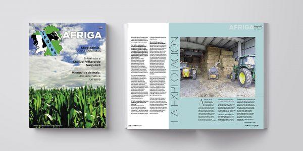 AFRIGA #138 <br><small>Marzo 2019 | Contenidos</small>