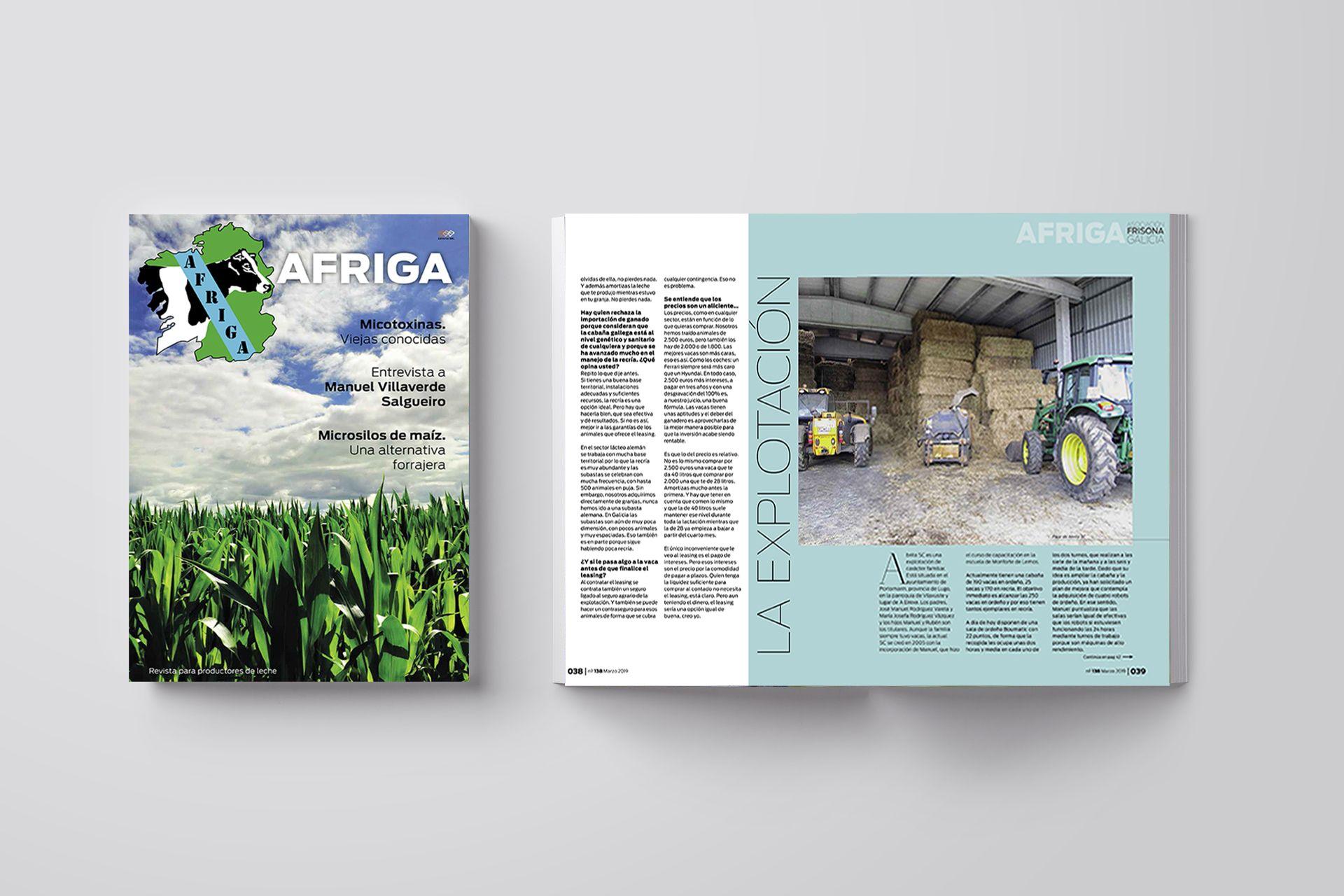 Revista AFRIGA #138 — Marzo 2019 — Portada