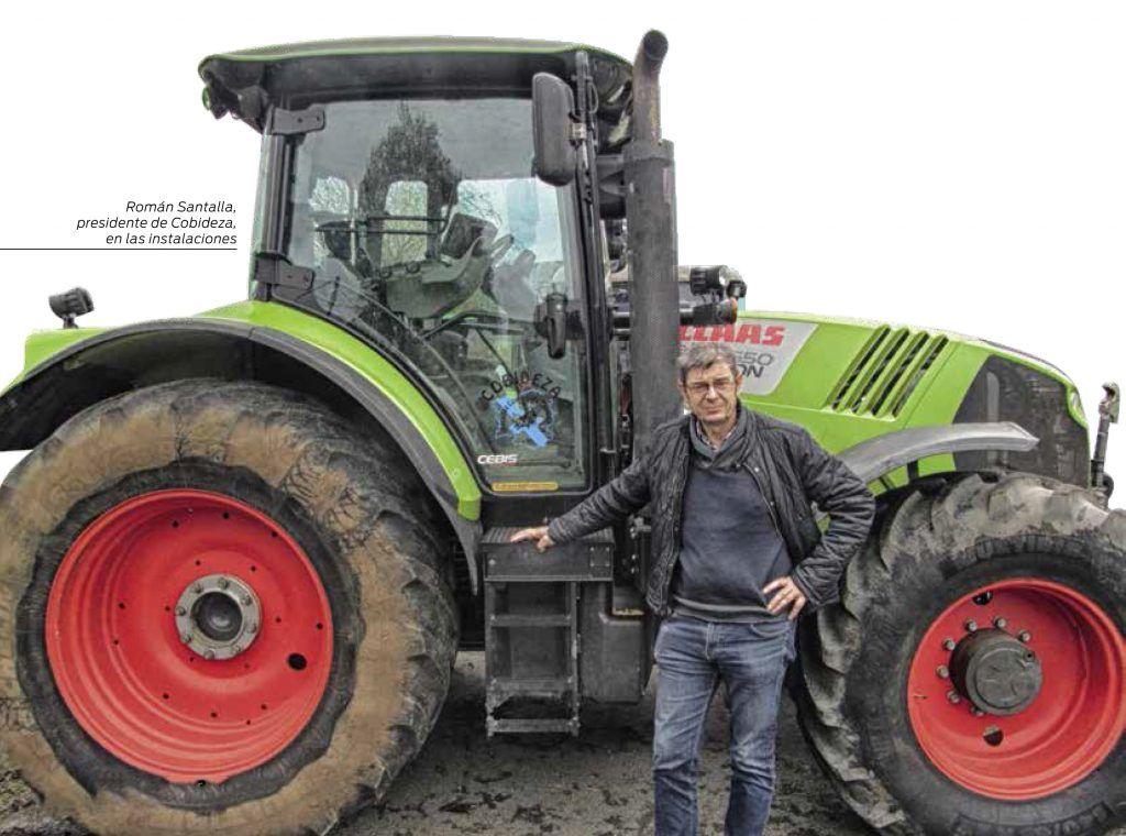 Revista AFRIGA - Román Santalla, presidente de Cobideza - Microsilos de maíz