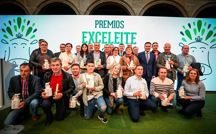 EXCELEITE <br></noscript><small>A Xunta convoca a 4ª edición dos premios que valoran a excelencia da calidade hixiénico-sanitaria de produtores galegos de leite cru de vaca</small>